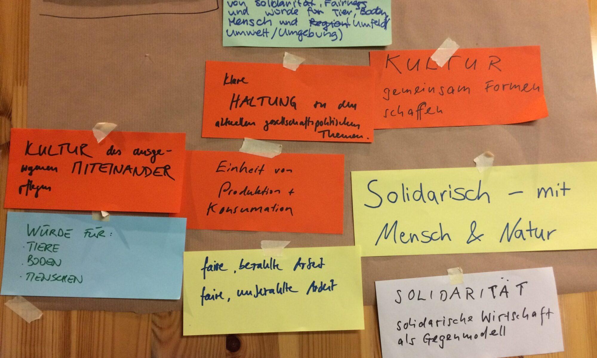ortoloco Blog - Die Hofkooperative im Fondli